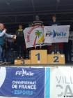 Noé Faiello centre nautique de st cast championnat de france esoirs de slalom
